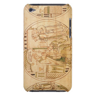 Harl. Roll Y.6 roundel 11 St. Guthlac is Ordained iPod Touch Case-Mate Case