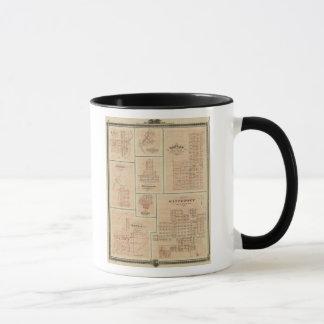 Harlan, Winterset, Exira, Milton, Oakfield Mug