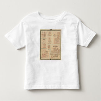 Harlan, Winterset, Exira, Milton, Oakfield Toddler T-shirt