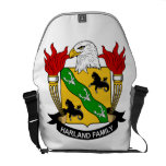 Harland Family Crest Messenger Bags