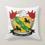 Harland Family Crest Pillow