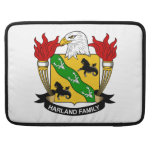 Harland Family Crest Sleeves For MacBook Pro