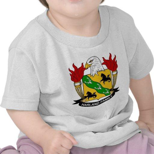 Harland Family Crest Tshirts