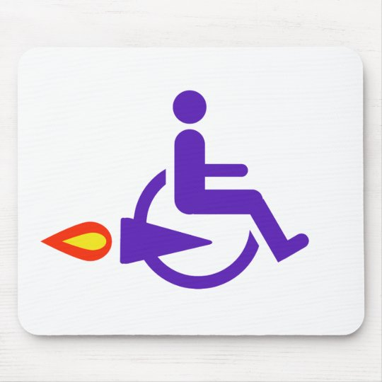Harldy Handicapped Mouse Pad