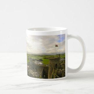 Harlech Castle Classic White Coffee Mug