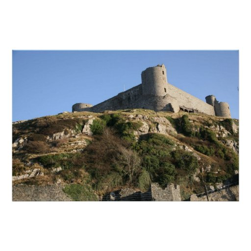 Harlech castle posters