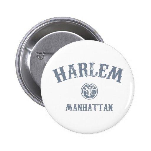 Harlem Pinback Buttons