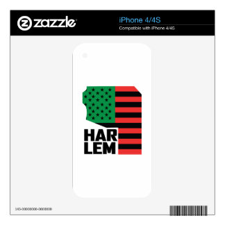 Harlem Decal For The iPhone 4