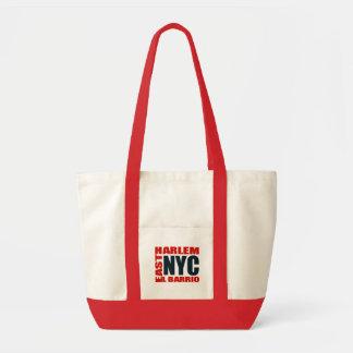 "Harlem del este ""bolso de NYC del barrio hispano d Bolsa Tela Impulso"