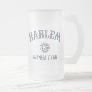Harlem Frosted Glass Beer Mug