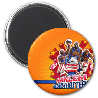 Harlem GlobeTrotter's Group Picture Magnet
