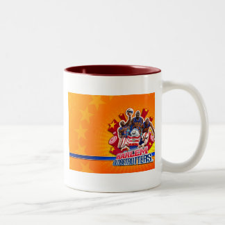 Harlem GlobeTrotter's Group Picture Two-Tone Coffee Mug