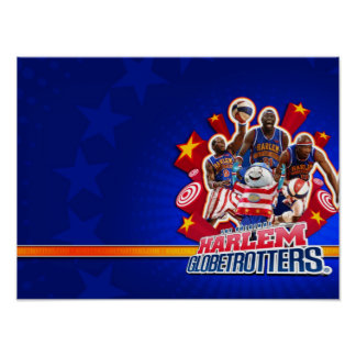 Harlem GlobeTrotter's Group Picture Posters