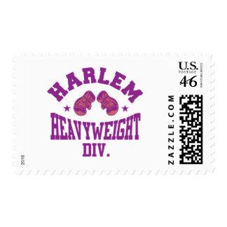 Harlem Heavyweight Purple Postage Stamp