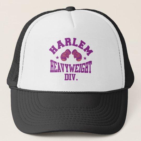 Harlem Heavyweight Purple Trucker Hat