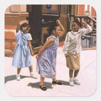 Harlem Jig 2001 Square Sticker