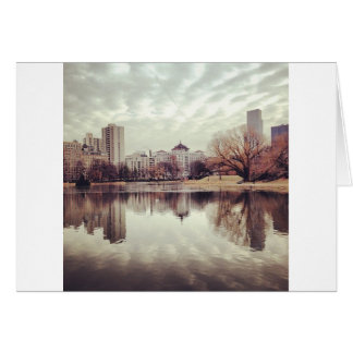 Harlem Meer in NYC's Central Park Greeting Cards