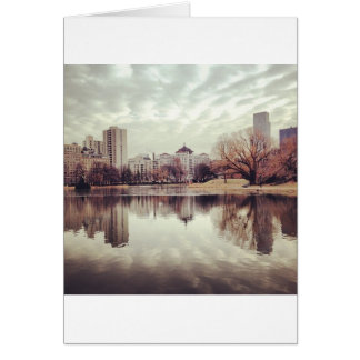 Harlem Meer in NYC's Central Park Card