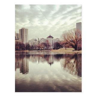 Harlem Meer in NYC's Central Park Postcards