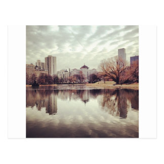 Harlem Meer in NYC's Central Park Post Card