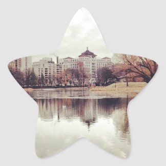 Harlem Meer in NYC's Central Park Star Sticker