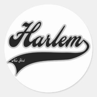 Harlem New York Classic Round Sticker