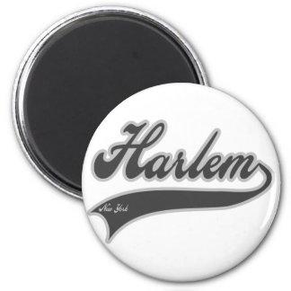 Harlem Nueva York Imán Redondo 5 Cm