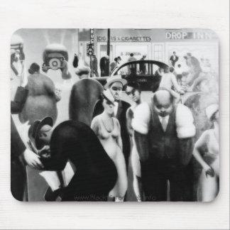 "Harlem Renaissance Art - ""Black Belt"" Mouse Pad"