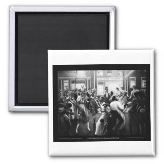 "Harlem Renaissance Art - ""Getting Religion"" Magnet"