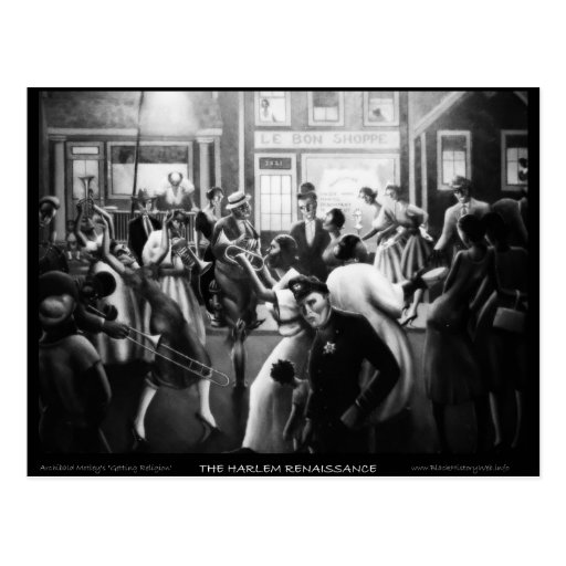 "Harlem Renaissance Art - ""Getting Religion"" Postcards"
