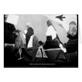 Harlem Renaissance Art - The Migration Series Greeting Card