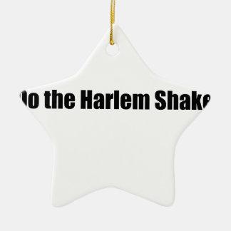 Harlem Shake! Ceramic Ornament