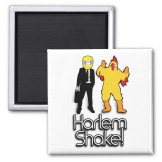 Harlem Shake Chicken & Helmet Man Internet Meme Magnet