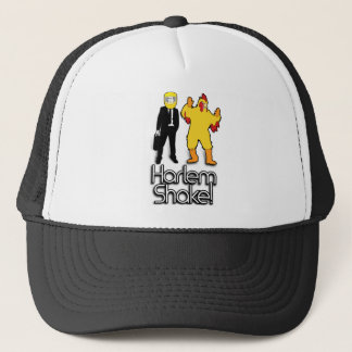 Harlem Shake Chicken & Helmet Man Internet Meme Trucker Hat
