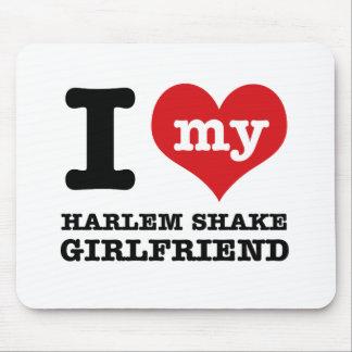 harlem Shake dance Girlfriend designs Mouse Pad