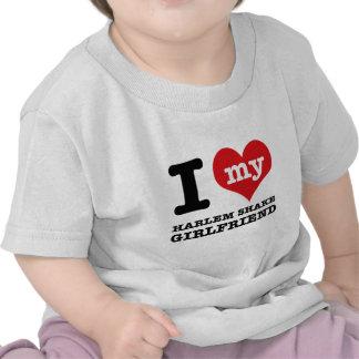 harlem Shake dance Girlfriend designs Tee Shirts