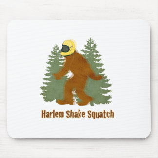 HARLEM SHAKE SQUATCH MOUSE PAD