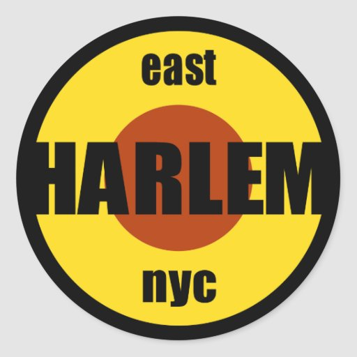 """Harlem Stickers 3"""" inches"""