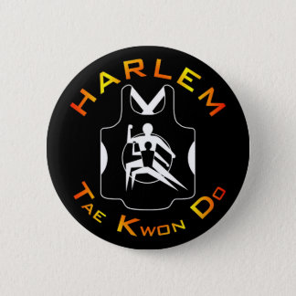 Harlem Tae Kwon Do Button