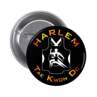 Harlem Tae Kwon Do Button