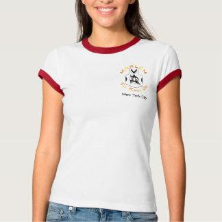 Harlem TKD Ladies Ringer T T Shirt