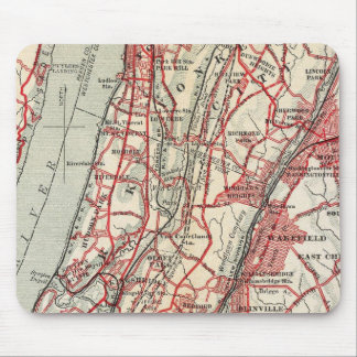 Harlem, Yonkers, Pelham Manor, New York Mouse Pad