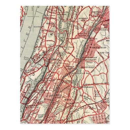 Harlem, Yonkers, Pelham Manor, New York Post Cards