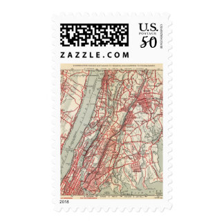 Harlem, Yonkers, Pelham Manor, New York Postage