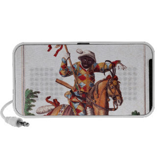 Harlequin a caballo iPhone altavoces
