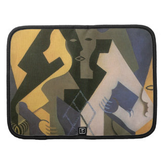 Harlequin at a Table by Juan Gris, Vintage Cubism Folio Planners