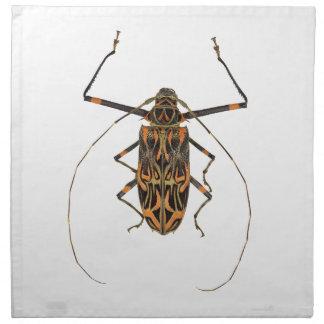 Harlequin Beetle Acrocinus Longimanus Cloth Napkin