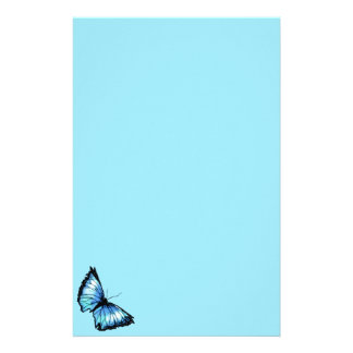 """""""Harlequin"""" (Blue Butterfly) Stationery"""