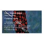 Harlequin By Paul Cézanne (Best Quality) Business Card Template