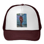 Harlequin By Paul Cézanne (Best Quality) Hats